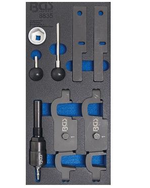 BGS 8790-8 Schlauchverbinder-Sortiment 8 mm
