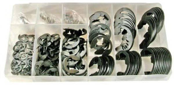 .Assortiment E-circlips de taille 1.5-22mm, 300pcs. (Art. 8039)