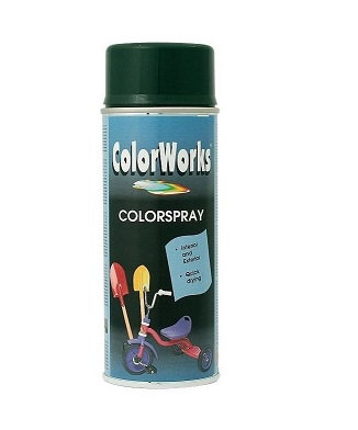 Color-Spray, matt schwarz, 400ml (Art. FF84101)