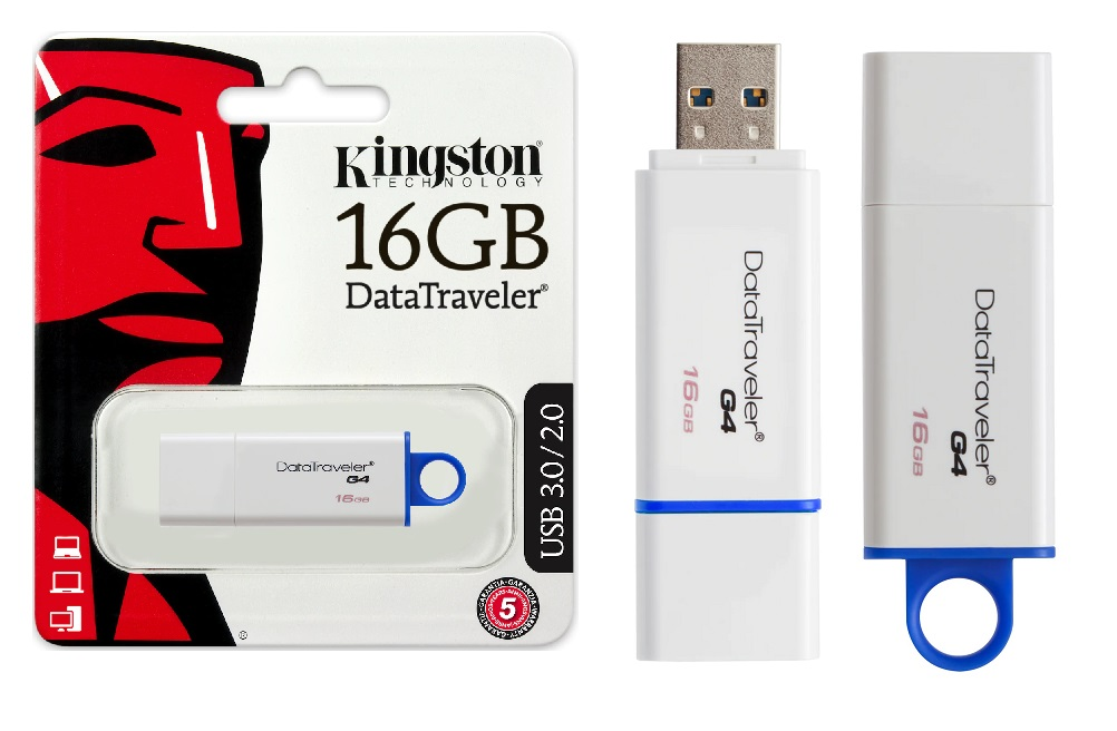 Clé USB, Kingston de 16 GB (Art. 20-6140)